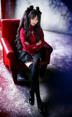 Tohsaka Rin cosplay (Fate/Stay Night)