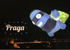 Edredón sobrevuela Praga