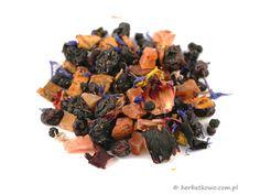 Herbata owocowa Bora Bora | www.herbatkowo.com.pl  Aromatyczna i apetycznie wyglądająca mieszanka jabłek, rodzynek, owoców czarnego bzupapaji, malin, hibiskusa. Dodatkiem są kwiatki bławatka i słonecznika.