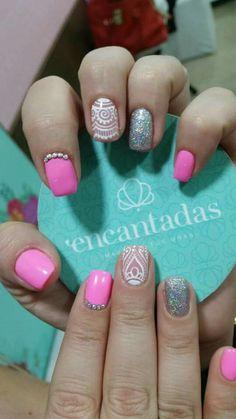 Nail Art, Nails, Ideas Para, Beauty, Polish Nails, Decorations, Tutorials, Box Braids, Short Nails