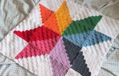 Ravelry: Starburst Square pattern by Emma Wilkinson