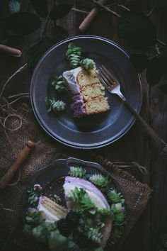 Adventures in Cooking: Oregano Honey Cake With Blackberry Buttercream + A Cookbook