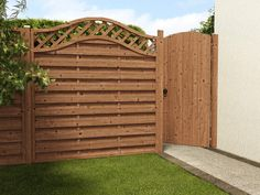 Buy Picket Fence Panels From Dunster House, a leading UK garden building supplier. Get Your Fence Panels delivered with our home delivery service. Picket Fence Panels, Outdoor Stuff, Outdoor Decor, Garden Buildings, Stand Tall, Gates, Outdoor Gardens, Arch, Cabin
