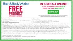 38 best coupons images grocery coupons bath body works bath rh pinterest com
