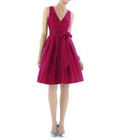 Alfred Sung - bridesmaid dress