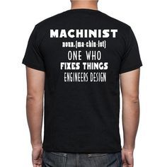 Machinists are awesome