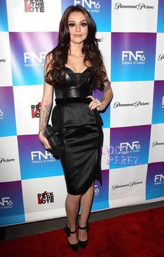 Cher Lloyd attends the pre-Grammys Friends N' Family event at Paramount Studios.