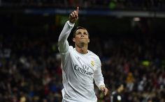 Download wallpapers Cristiano Ronaldo, Real Madrid, 4k, football star, Portuguese footballer, La Liga, Spain