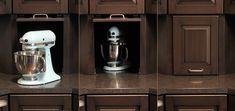 Brown Condominium Kitchen - Mullet Cabinet