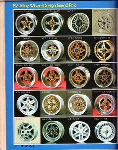 懐かしいホイール 1982|まだ見ぬ車を探して・・・|ブログ|kimu_march|みんカラ - 車・自動車SNS(ブログ・パーツ・整備・燃費) Jdm Wheels, Aftermarket Wheels, Japanese Cars, Vintage Japanese, Joker Iphone Wallpaper, Wheel Tattoo, Rims And Tires, Racing Wheel, Car Gadgets