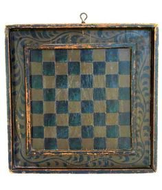 19th century game board