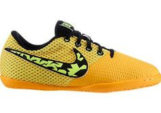 adbc960c930 Nike JR Elastico Pro III IC Orange Youth Indoor Soccer Shoes (13.5)