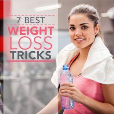 7 Best Weight Loss Tricks to try!  #weightloss #tipsandtricks