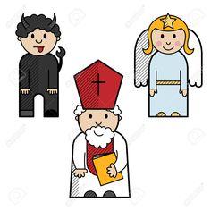 Mikuláš, anděl a čert Family Guy, Comics, Fictional Characters, Advent, Art, Activities, Art Background, Kunst, Cartoons