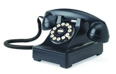 Buy Wild and Wolf 302 Desk Phone - Black from our Retro Telephones range at Red Candy, home of quirky decor. FREE DELIVERY over Perth, Radios, Westerns, Cadeau Design, Retro Desk, Retro Office, Retro Phone, Vintage Telephone, Vintage Phones