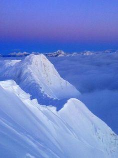 Fernie Alpine Resort - Polar Peak sunrise - Feb 2, 2012