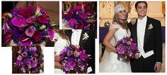 my dream bouquet bridal orchids tulips daylilies cartridges purple blue wedding bride