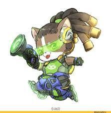 Resultado de imagem para overwatch characters chibi animal