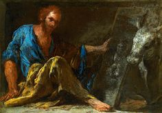 Bernardo Cavallino (1616–1656) /// Tefaf - Biennale di Firenze - Mint - Arte Antica - Galleria Silvano Lodi