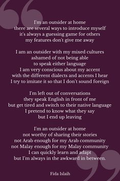 Poems About Culture 7