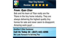 Bob and his team at Titan really are the Titans in the tiny home industry. They are...