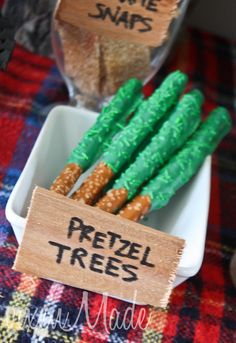 """Trees"" at a Camping Party #camping #partytrees"