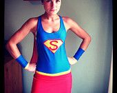 Reserved listing for beckyf2113 Wonder Woman inspired Running Costume. $153.00, via Etsy.