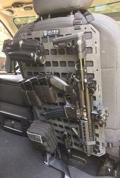 Grey Man Tactical Rigid MOLLE Panel Vehicle Seat Back www.greyman-tactical.com