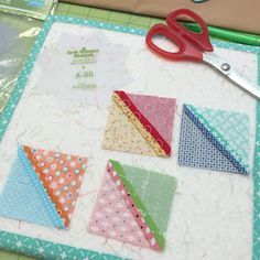 I'm continuing my tutorials   about making   easy patchwork flowers   with my   BLOOM   Sew Simple Shapes   CLICK HERE   to get yo...