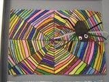 Artsonia Art Exhibit :: Rainbow Spiders