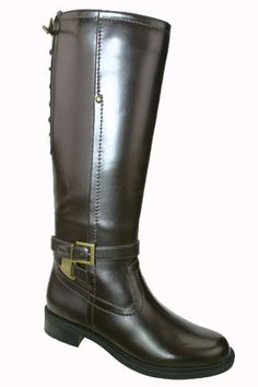 Check out our Vegan-Friendly Alana Wide Calf boot - available in Brown and Black!