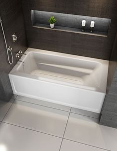 signature rectangle skirted bath with armrests jacuzzi baths