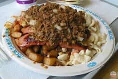 Nick Tahou's Garbage Plate. Rochester NY.  Can't believe people dont know what this is.