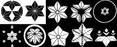 Аой-мон葵紋- мальва –  символ долговечности, герб клана Токугава и их родственников.