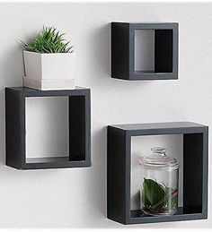 Modern Home 3 Pieces Black Square Cube Wall Shelf Set Fasthomegoods http://www.amazon.com/dp/B00T8J5HLG/ref=cm_sw_r_pi_dp_4IB9vb08YA39S