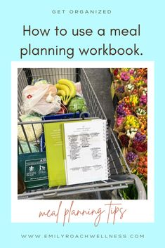 Have you noticed the cookbooks that organize meal plans for you? Are you using a meal planning workbook? Here are my tips for maming the most of them to@save you time and money. #mealplanning #mealplans Lunch Recipes, Real Food Recipes, New Recipes, Packing School Lunches, Dinner This Week, Recipe Organization, New Cookbooks, Thanksgiving Menu, Meal Planner