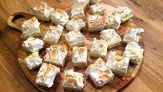 No bake key lime cheesecake squares - recept | 24Kitchen
