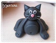 Sweet Creations by Stephanie: Fondant Kitty Tutorial