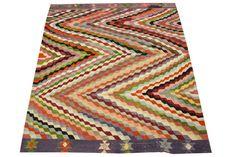 Handwoven Kilim Rug 79 x 61 Feet  Organic Kilim by kilimwarehouse