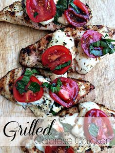 Give it a try, and I'll bet you'll make this simple and delicious grilled caprese chicken recipe your go-to entertaining dish for the entire summer.