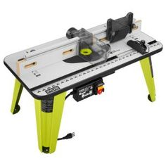 Benchtop Router Table With 1 3 4 Hp Router In 2019