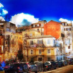 Corfu city  #citylife  #amazing  #landscape #snapseed #alledaagsedingen #photooftheday #outdoor #streetphotography #straatfotografie #cityphotography #buildings #street #colorfulcity