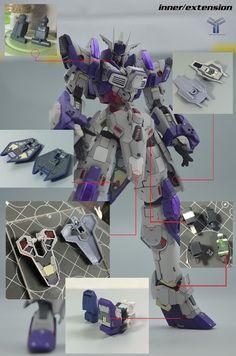 "Custom Build: HGBF 1/144 Denial Gundam ""detailed"" - Gundam Kits Collection News and Reviews"
