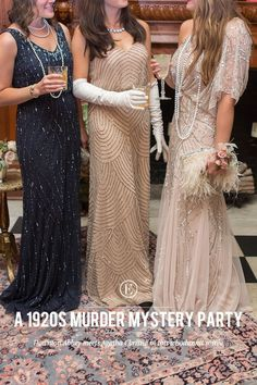 How to Throw a Glam 1920s Murder Mystery Party! - The Everygirl