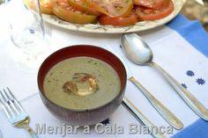 Menjar a Cala Blanca: CREMA DE ALCACHOFAS
