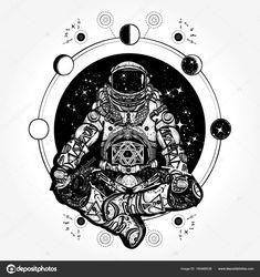depositphotos_165466536-stock-illustration-astronaut-in-the-lotus-position.jpg (963×1024)