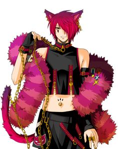 """""""Boris Airay from Alice in the Country of Hearts/Clover My absolute favorite neko character from Anime~ I've always loved the Cheshire Cat from Alice in Wonderland, and now with Quinn. Cheshire Cat Cosplay, Alice Anime, Neko Boy, Chesire Cat, Accel World, Daddy, Joker, Super Cat, Hot Anime Guys"""