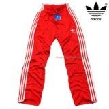 2014 Nieuwe Korting Adidas Originals Heren Trainingsbroek rood / wit te koop