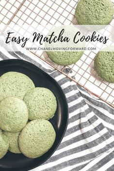Delicious Matcha Cookies You Will Want to Make – Chanel Moving Forward Matcha Cookies, Green Tea Cookies, Easy Matcha Cookies,. Matcha Cookies, Matcha Dessert, Matcha Cake, Healthy Cookie Recipes, Healthy Cookies, Dessert Recipes, Fun Desserts, Healthy Toddler Snacks, Kid Snacks
