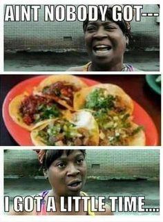 La comida mexicana es lo más cercano a la chapina que hay por estos lares.